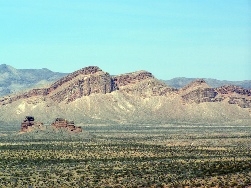 Uplift. Rock formation found in the Bowl of Fire in Nevada royalty free stock photography