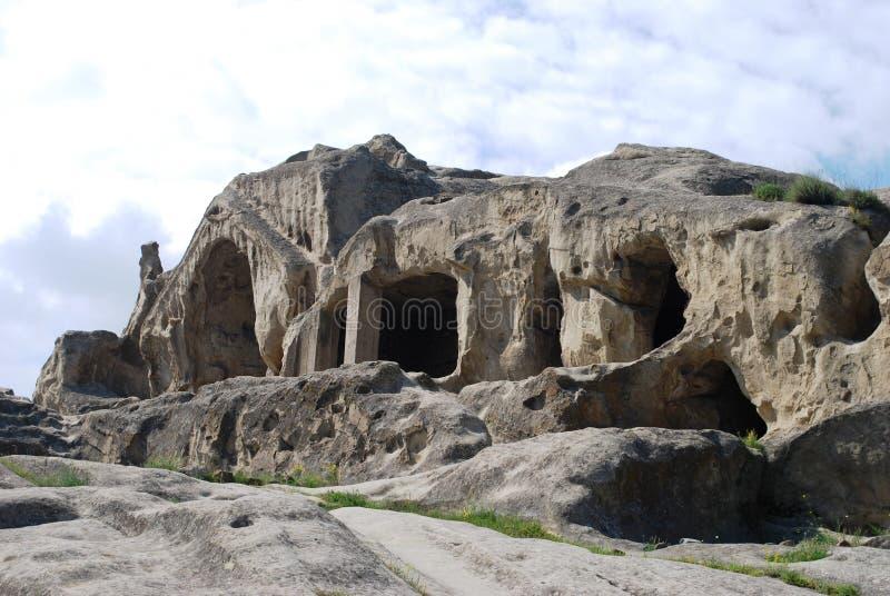 upliscikhe города каменное стоковые изображения rf
