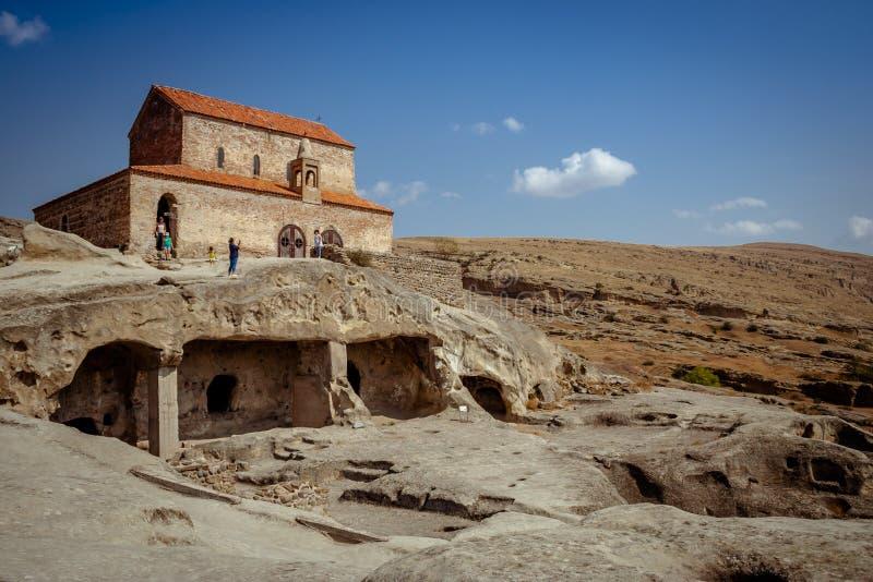 Uplistsikhe Is An Ancient Rock-hewn Town In Eastern Georgia. UNESCO World Heritage Site. Shida Kartli Region, Georgia. stock images