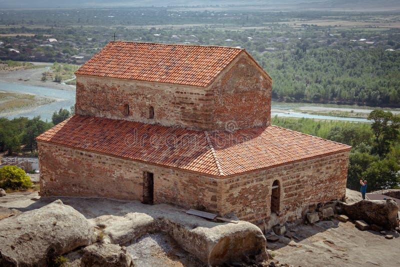 Uplistsikhe Is An Ancient Rock-hewn Town In Eastern Georgia. UNESCO World Heritage Site. Shida Kartli Region, Georgia. stock image