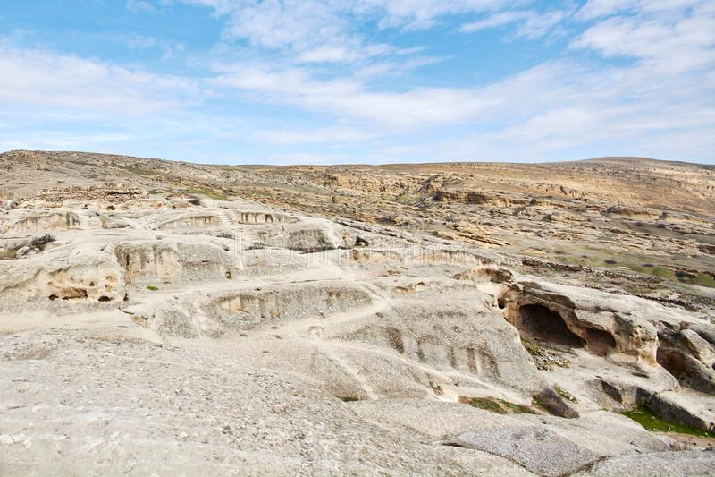 Uplistsikhe Is An Ancient Rock-hewn stock photo