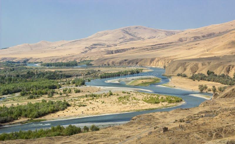 Uplistsikhe, região de Shida Kartli, Geórgia fotos de stock royalty free