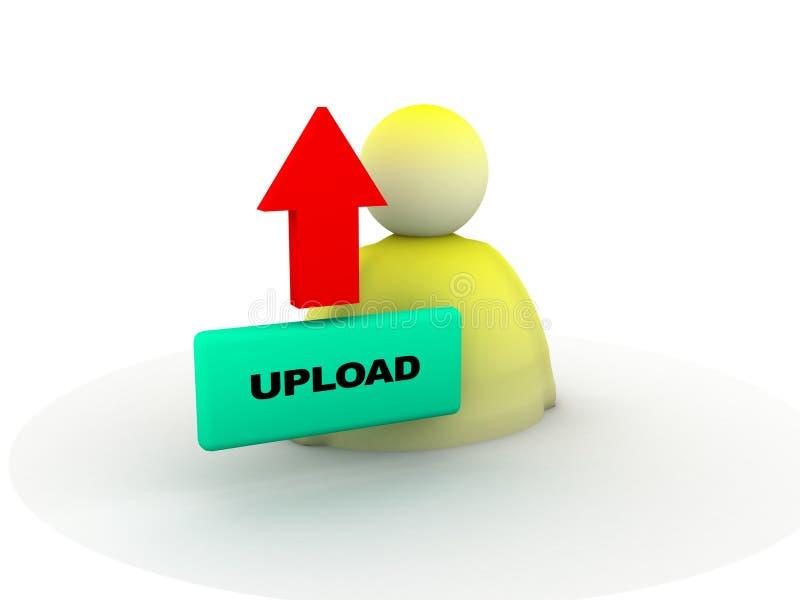 upload кнопки бесплатная иллюстрация