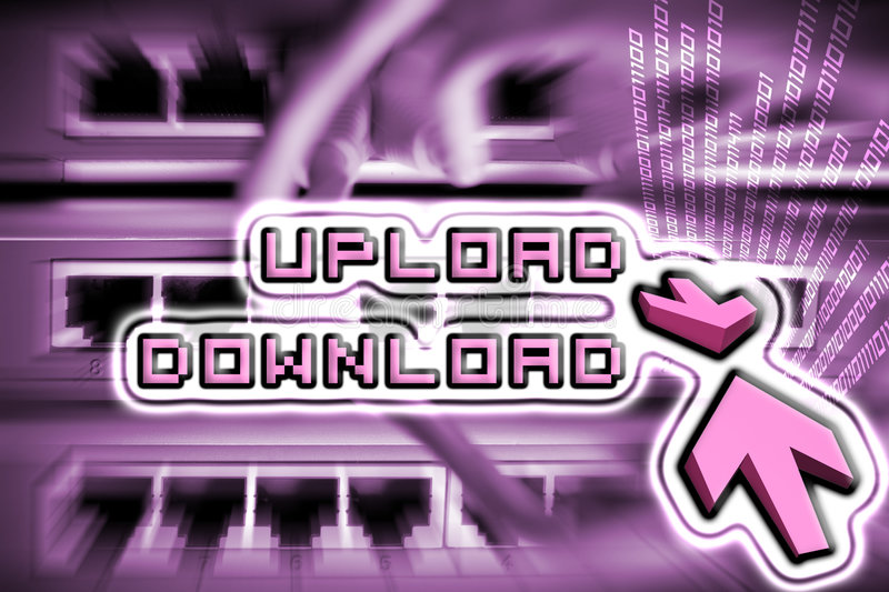 Download Upload And Download Internet Royalty Free Stock Photo - Image: 7794605