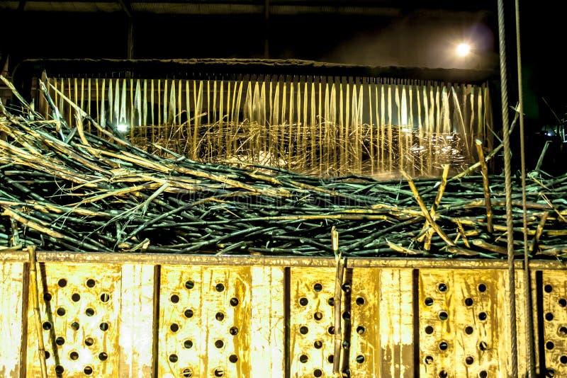 Upload e cana-de-açúcar Washington na indústria imagens de stock