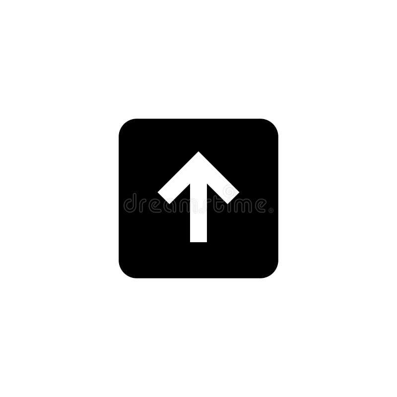 Upload en download pictogram Gehechtheidsteken vector illustratie