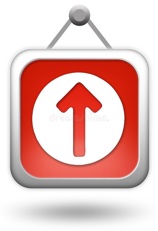 Download Upload icon stock illustration. Illustration of design - 12246384