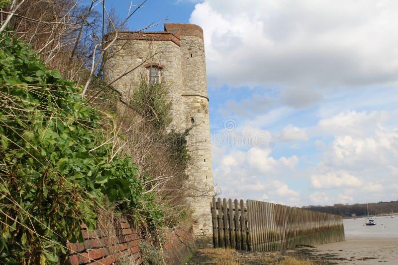 Upnor Castle στο Ρότσεστερ στοκ φωτογραφίες