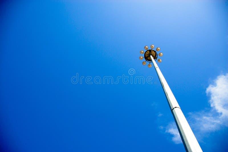 Upp till skyen royaltyfria foton