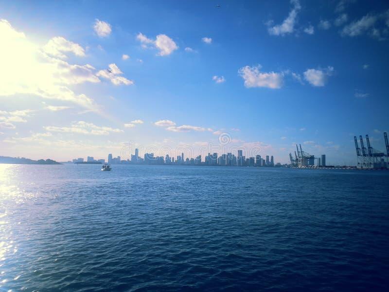 Uppdelning i Miami fotografering för bildbyråer