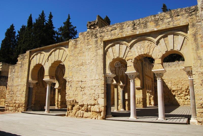 Upper Basilica, Medina Azahara. royalty free stock image