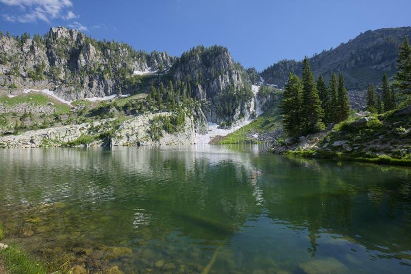 Upper Bloomington Lake royalty free stock image