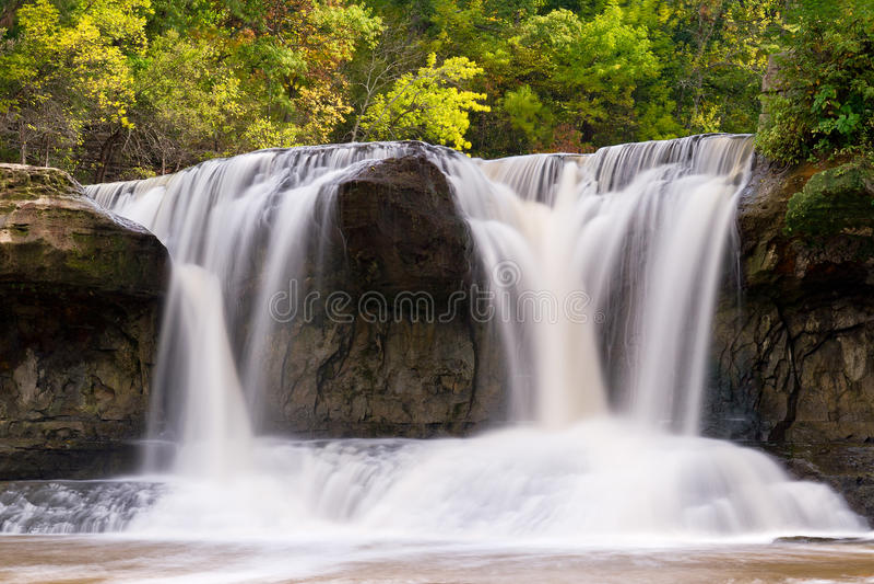 Download Upper Cataract Falls, Indiana Stock Photo - Image: 21545348
