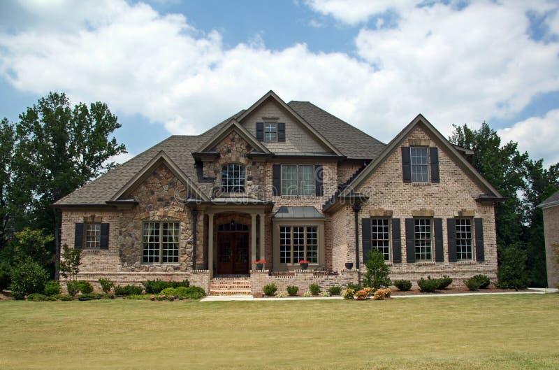 Download Upper class luxury home stock image. Image of class, neighborhood - 890663