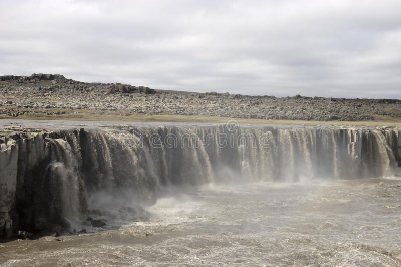 Download Upper Dettifoss Waterfall, Iceland. Stock Photo - Image: 26431562