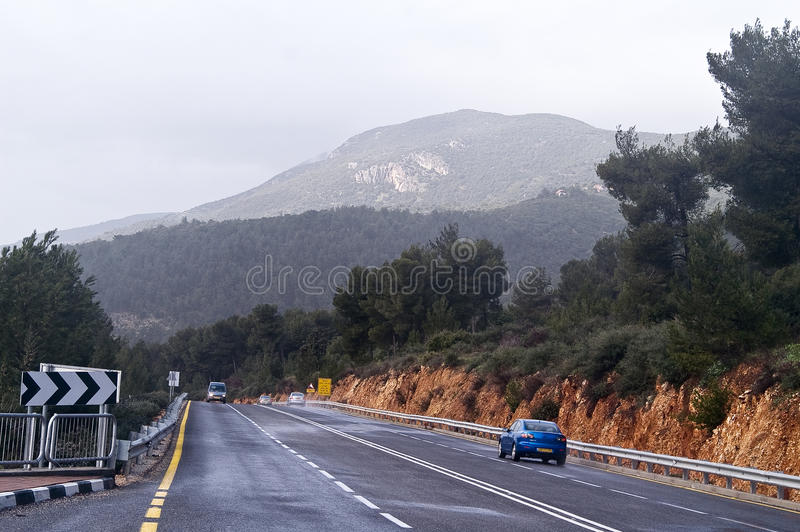 Download Upper Galilee stock photo. Image of scape, forest, view - 18902158