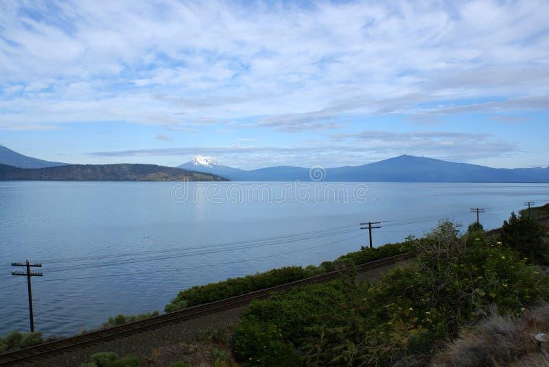 Upper Klamath Lake, South Central Oregon, USA royalty free stock photos