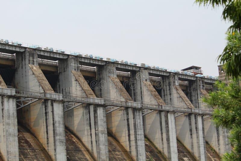Upper Kolab Dam Close View. Picture of Upper kolab dam with close view stock photos