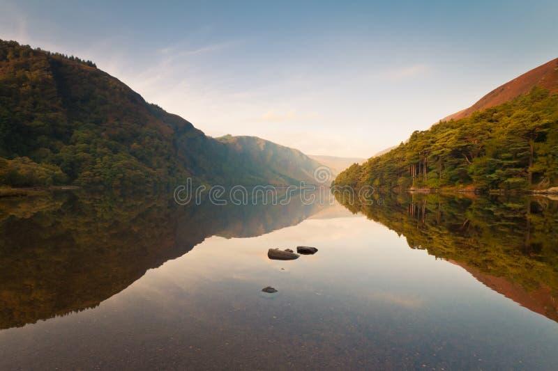 Upper Lake reflection stock photos