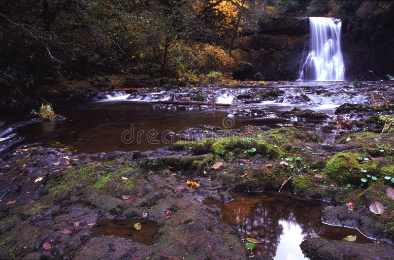 Upper Northfalls, Silver creek state park. royalty free stock photography