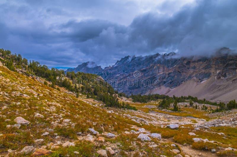 Upper Paintbrush Canyon stock photo