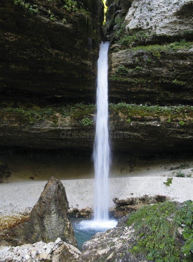 Download Upper Pericnik Waterfall In Julian Alps Stock Photo - Image: 26734830