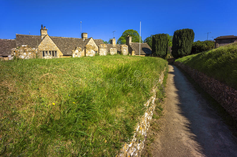 Upper slaughter. Village the cotswolds gloucestershire the midlands england uk stock photos