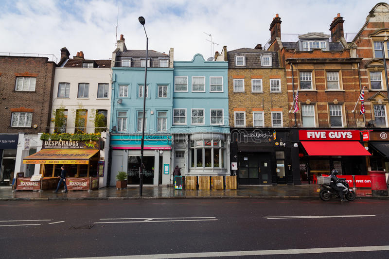 Upper Street in London royalty free stock photo