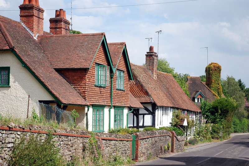 Upper Street, Shere royalty free stock images