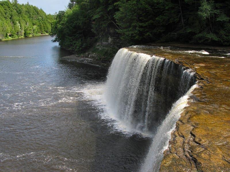 Upper Tahquamenon Falls, Michigan stock photos