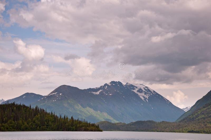 Download Upper Trail Lake stock photo. Image of cloud, blue, landscape - 15903148