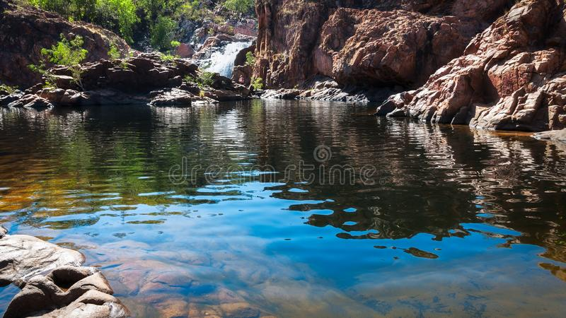 Download Low Angle View At Edith Falls, Northern Territory, Australia Stock Photo - Image of nitmiluk, cascades: 100618056