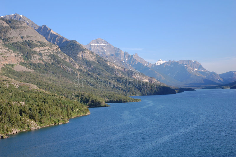 Download Upper Waterton Lake Royalty Free Stock Photos - Image: 5701668