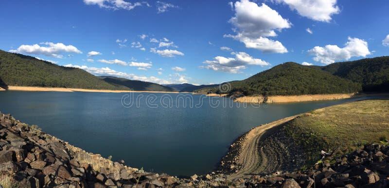 Upper Yarra reservoir stock images