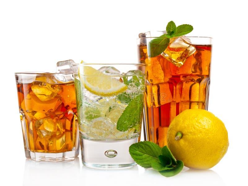 Uppfriskande drinkar arkivfoton