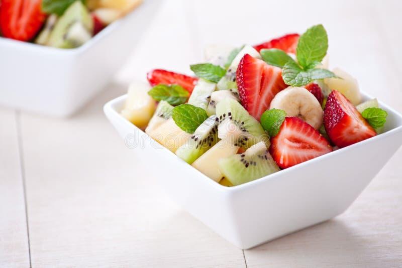 Uppfriskande fruktsallad arkivfoto