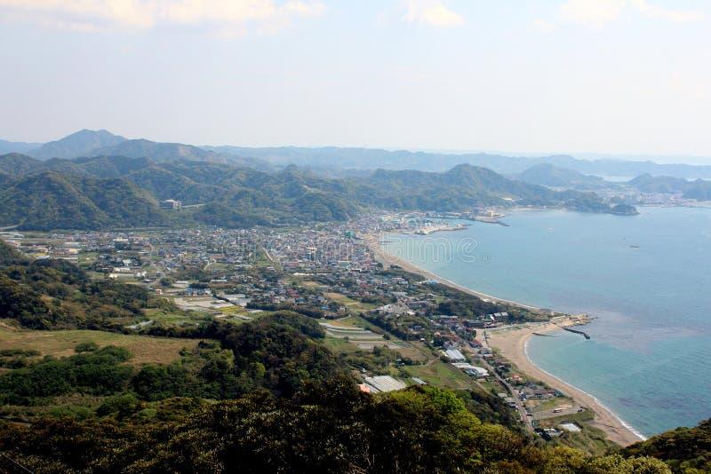 By uppifrån av Mt Nokogiri arkivbild
