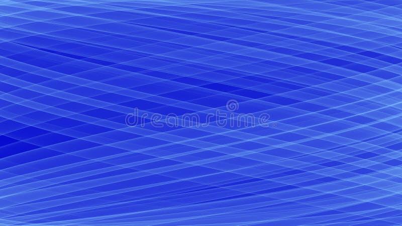 Upplysta vågor för abstrakt teknologibakgrund stock illustrationer