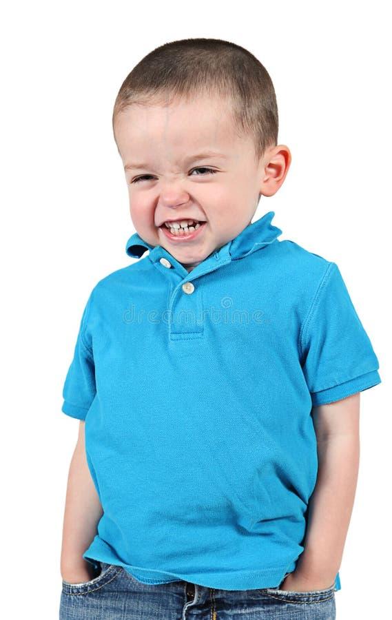 uppnosigt barn för pojke royaltyfria foton