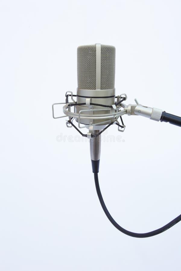 upprätt bang mic arkivfoto