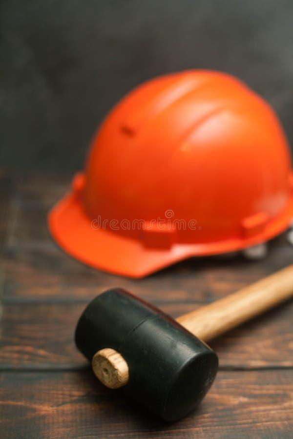 Uppsättning av konstruktions- och reparationshjälpmedel royaltyfri foto