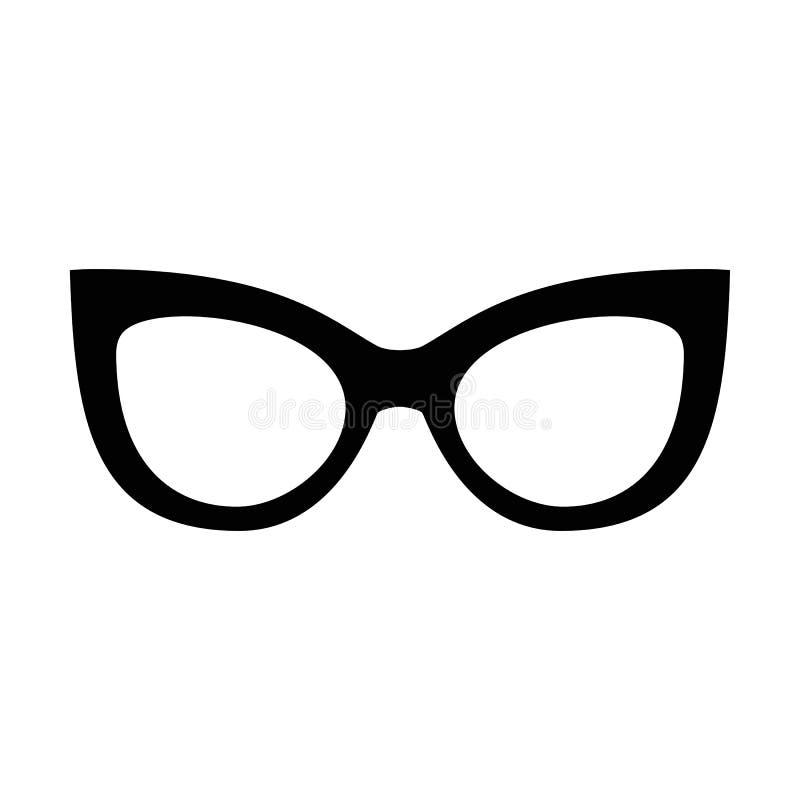 Uppsättning av olika exponeringsglas Stilfull solglasögon för kvinnor, män och barn Ögonsamling också vektor för coreldrawillustr royaltyfri illustrationer