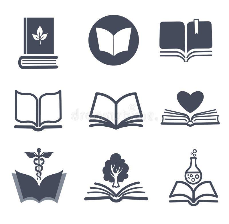 Uppsättning av vektorboksymboler. royaltyfri illustrationer