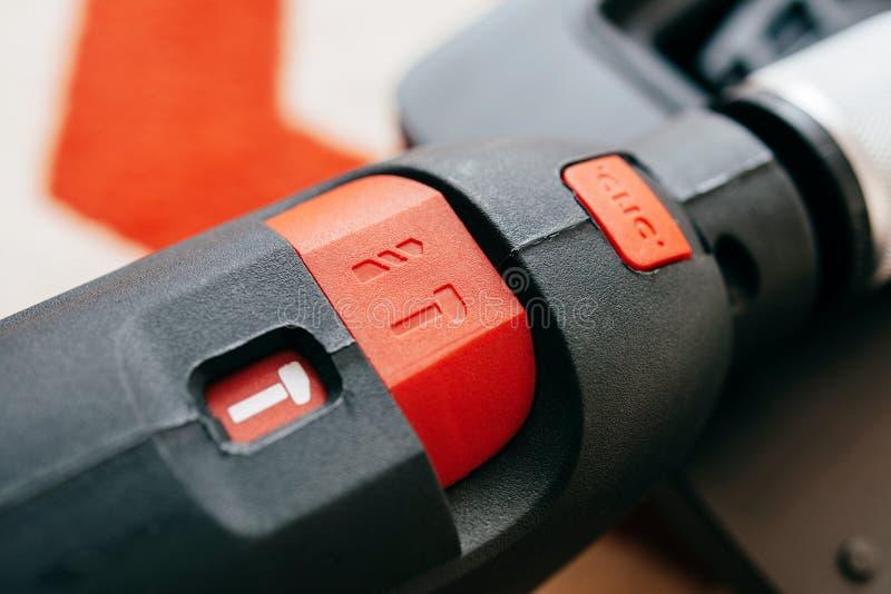 Uppsättning för knapp för hammaredrillborr till hålapparaten arkivbilder
