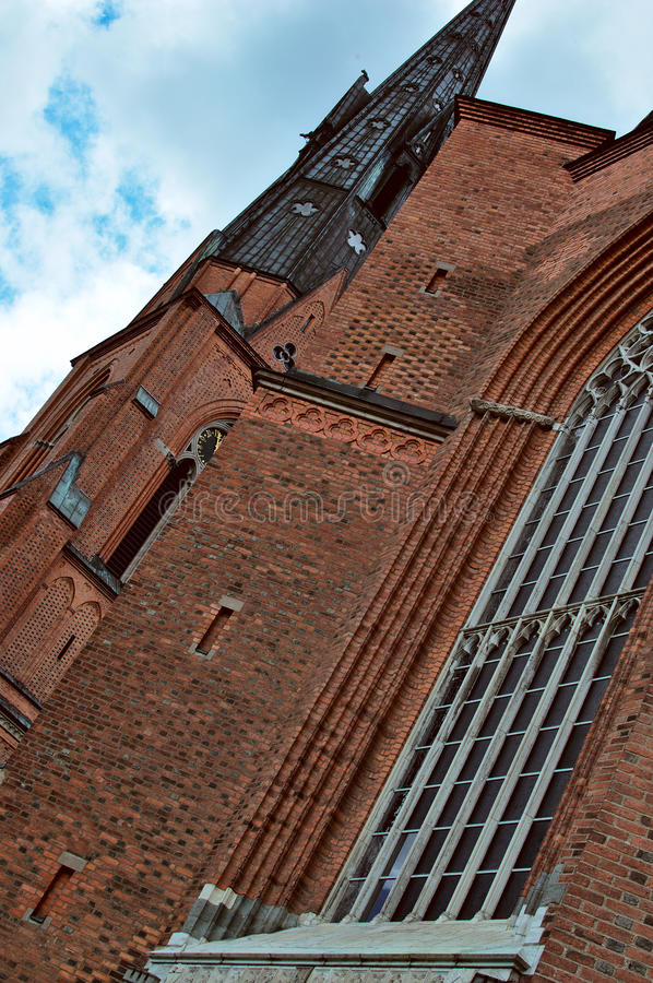 Uppsala Cathedral stock images