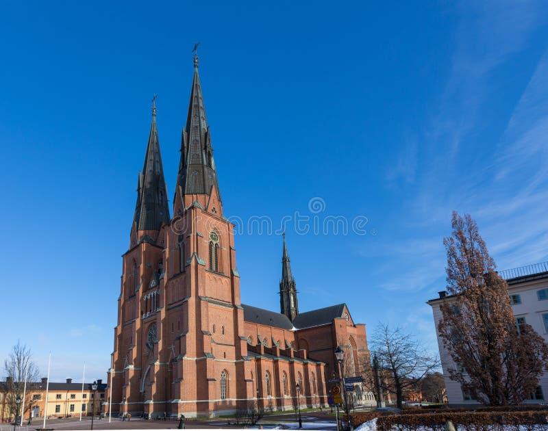 Uppsala Domkyrka arkivfoton