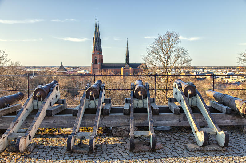 Uppsala royalty free stock photos