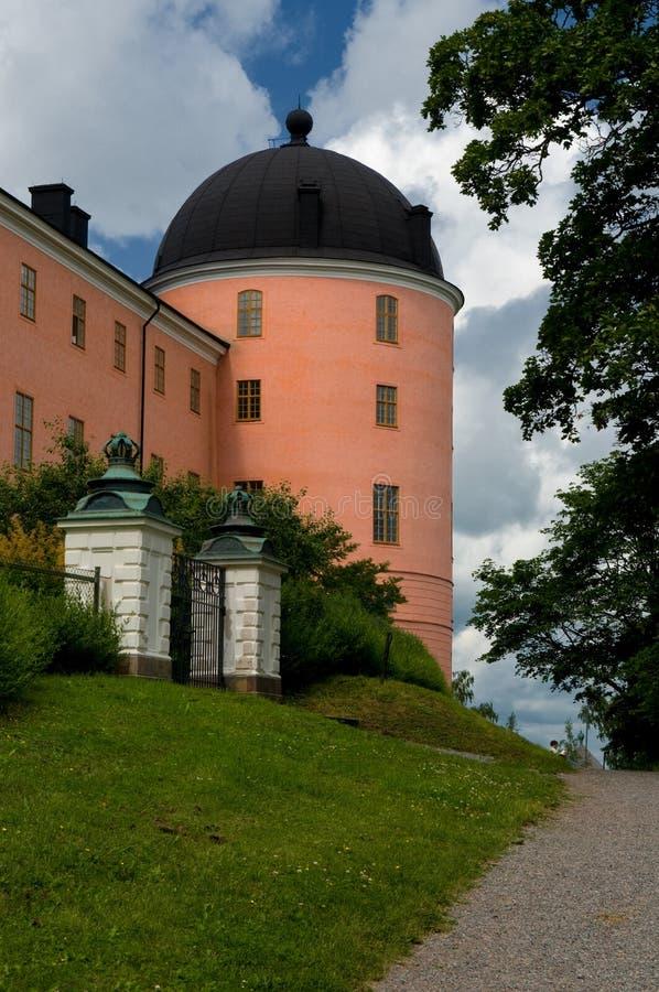 Uppsala-Schloss - Uppsala Slott lizenzfreies stockbild