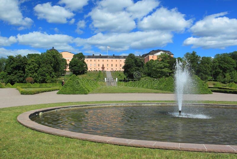 Uppsala slott arkivfoto