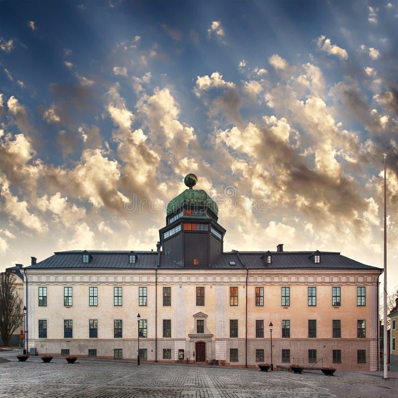 Uppsala uniwersyteta muzeum obrazy royalty free